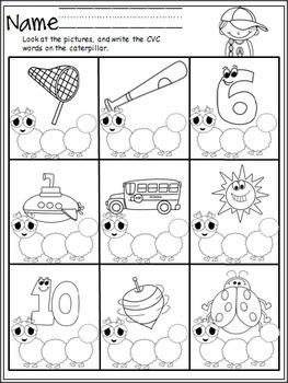May Math and Literacy Packet (K)