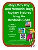 May (May Day and Memorial Day) Mystery Pictures Using the Hundreds Chart