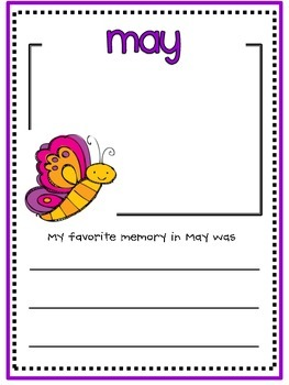 May Memory Writing Prompt