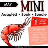 May Mini Adapted Book Bundle [7 books!] Digital + Printabl