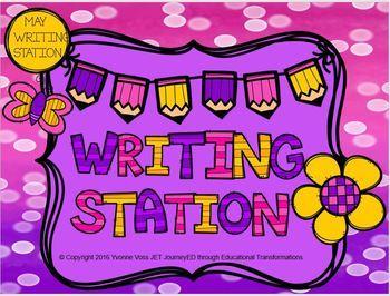 May Mini Writing Station