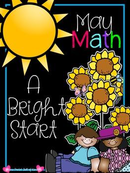 May Morning Bright {Kindergarten Math Morning Work}