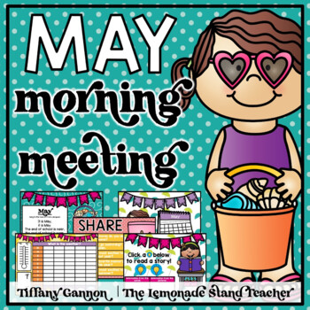 May Morning Meeting and Calendar First Grade