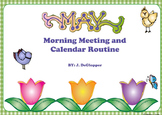 May Morning Meeting and Calendar Routine