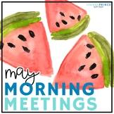 May Morning Meetings