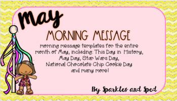 May Morning Message Bundle