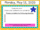May Morning Message Editable Templates