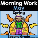May Morning Work {2nd Grade} PDF & Digital Ready!