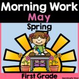 May Morning Work {1st Grade} PDF & Digital Ready!