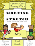 May Morning Work: First Grade Common Core Morning Stretch