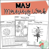 May Morning Work | For Upper Elementary | ELA and Math Review