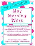 May Morning Work-Free Sample