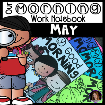 May Morning Work Notebook Unit 9 for Kindergarten
