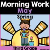 May Morning Work {Third Grade}