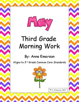 May Morning Work Third Grade Common Core Standards