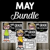 May Morning Work and Homework Bundle for Second Grade
