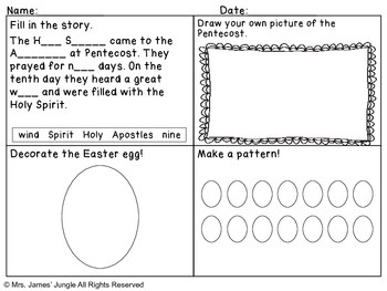 May Morning Work for First Grade Catholic Edition