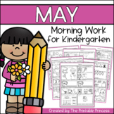 May Morning Work for Kindergarten Common Core Aligned