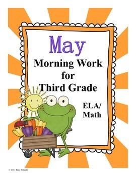 May Morning Work for Third Grade
