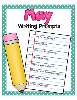 May NO PREP Journal Prompts