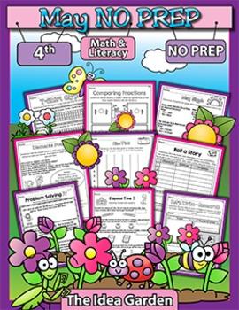 May NO PREP - Math & Literacy (Fourth)