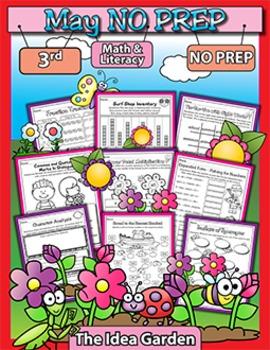 May NO PREP - Math & Literacy (Third)