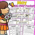 May NO PREP Packet (Kindergarten)
