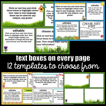 May  Newsletter Templates ~ Editable