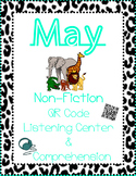 May Non Fiction: Animals - Sandra Markle (QR Listen & Comprehension)