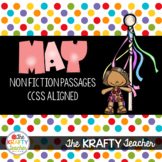 May NonFiction Reading Passages for 2nd & 3rd