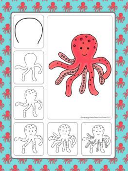 Ocean Unit Art Activities (May Directed Drawings)