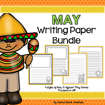May Writing Paper Bundle