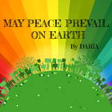 May Peace Prevail On Earth – A Peace Song by DARIA