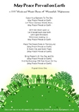 May Peace Prevail On Earth - Free Lyric Sheet For The Song