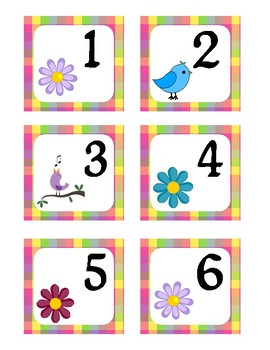 May Pocket Calendar Cards