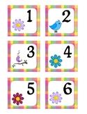 May Pocket Calendar Cards