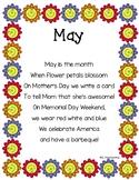 May Poem Printable