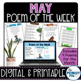 May Poem and Book Set