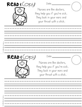 May Poems for Building Reading Fluency & Writing Stamina (K-1)