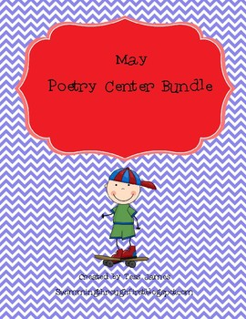 May Poetry Center Bundle-5 poems!