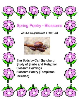 May Poetry - ELA Integration with Plant Unit