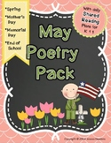 May Poetry Pack ~ w/ daily Shared Reading plans {Common Core Aligned}