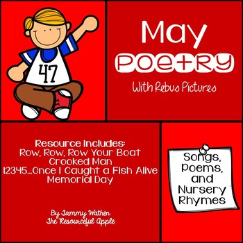 May Poetry with Rebus Pictures