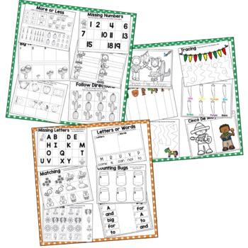 May Preschool Theme Bundle