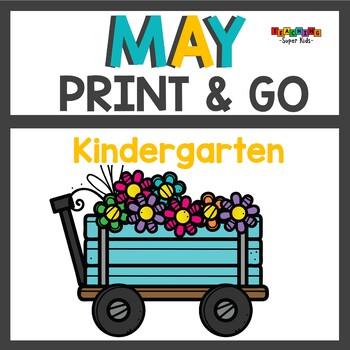 May No Prep Print and Go Activities