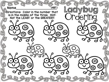 May Print and Learn ~ NO PREP Printables Print and Go Math and Literacy Packet