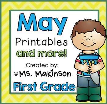 May Printables - First Grade Literacy and Math