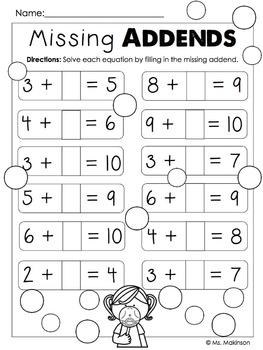 May Printables - First Grade Literacy and Math