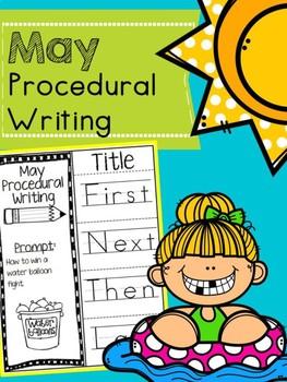May Procedural Writing