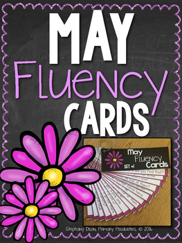 May Progressive Fluency Cards